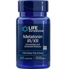 Life Extension Melatonin IR/XR, 60 capsules