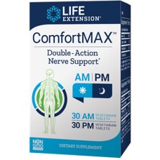 Life Extension ComfortMAX™ 30 AM vege tabs, 30 PM vege tabs