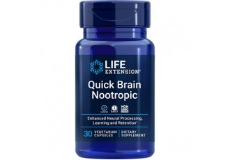 Life Extension Quick Brain Nootropic, 30 vege caps