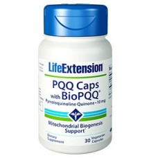 Life Extension PQQ Caps with Pyrroloquinoline Quinone 10mg, 30 vege caps