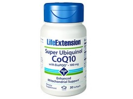 Life Extension Super Ubiquinol CoQ10 with PQQ® 100 mg, 30 softgels