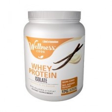 Life Extension Wellness Code™ Whey Protein Isolate Vanilla Flavor, 403g
