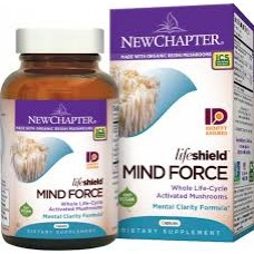 New Chapter LifeShield™ Mind Force, 60 vege caps