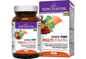 New Chapter Every Man®, 72 Tablets (Expiry Jun 2017)