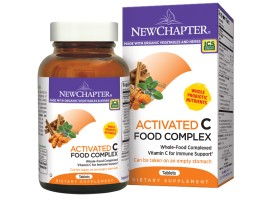 New Chapter Activated C Food Complex, 60 tablets  (Expiry Oct 2018)