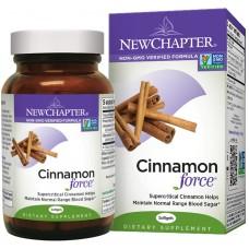 New Chapter Cinnamon Force®, 30 liquid vege caps