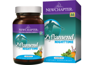 New Chapter Zyflamend® Nighttime, 60 Liquid Vegetarian Capsules