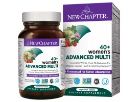 New Chapter Women's Advanced 40+ Multi, 96 tablets