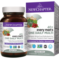 New Chapter Every Man One Daily 40+ Multivitamin, 48 vege tab
