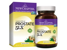 New Chapter Prostate 5LX™, 60 liquid vege caps