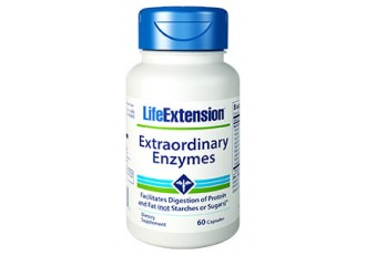 Life Extension Extraordinary Enzymes, 60 capsules