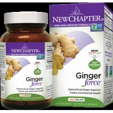 New Chapter Ginger Force®, 30 liquid vege caps