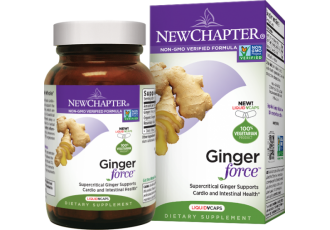 New Chapter Ginger Force®, 30 liquid vege caps