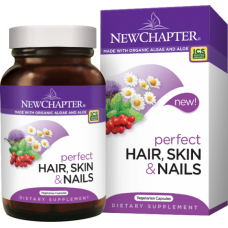 New Chapter Perfect Hair, Skin & Nails, 30 vegetarian capsules (Buy 1 get 1 free) (Expiry 12/2018)