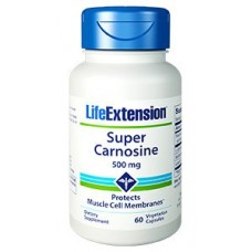 Life Extension Super Carnosine 500 mg, 60 vege caps